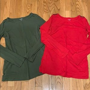 Mother hood maternity tops